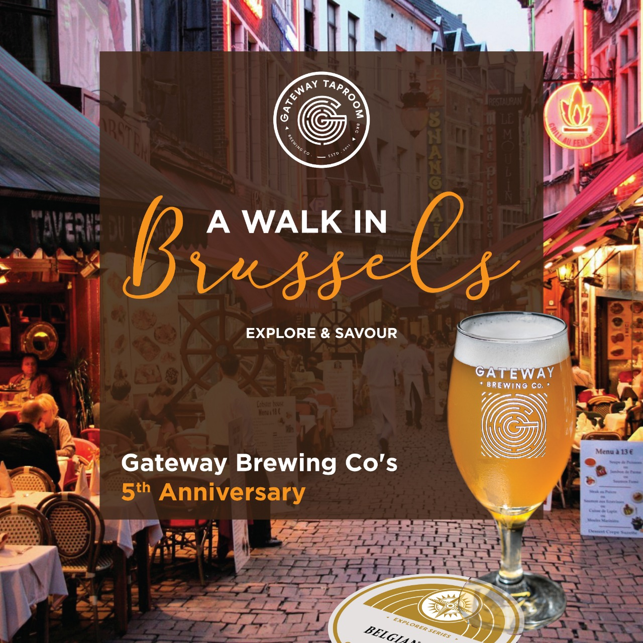 A Walk in Brussels